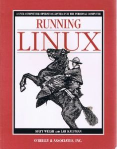 The first edition of Running Linux